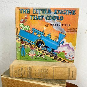 3/$20 Vintage Book The Little Engine That Could